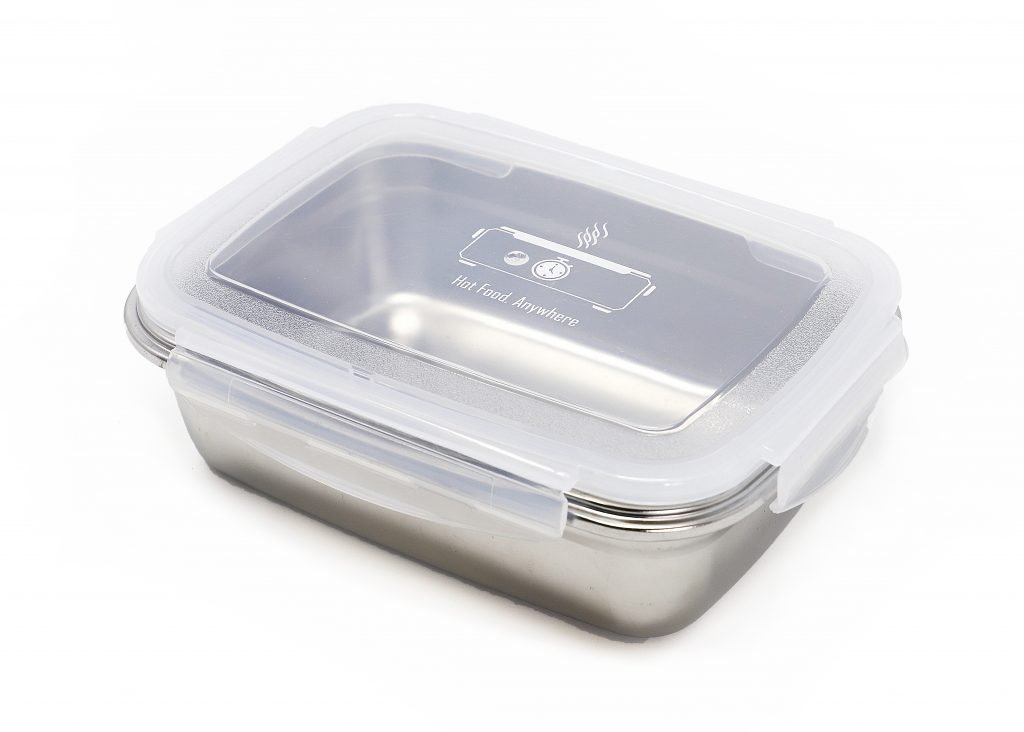 LunchEAZE stainless steel container