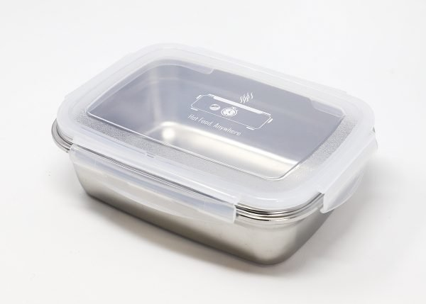 stainless steel food-grade container