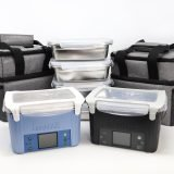 LunchEAZE dual pack with two lunchboxes, meal containers, and lunch bags