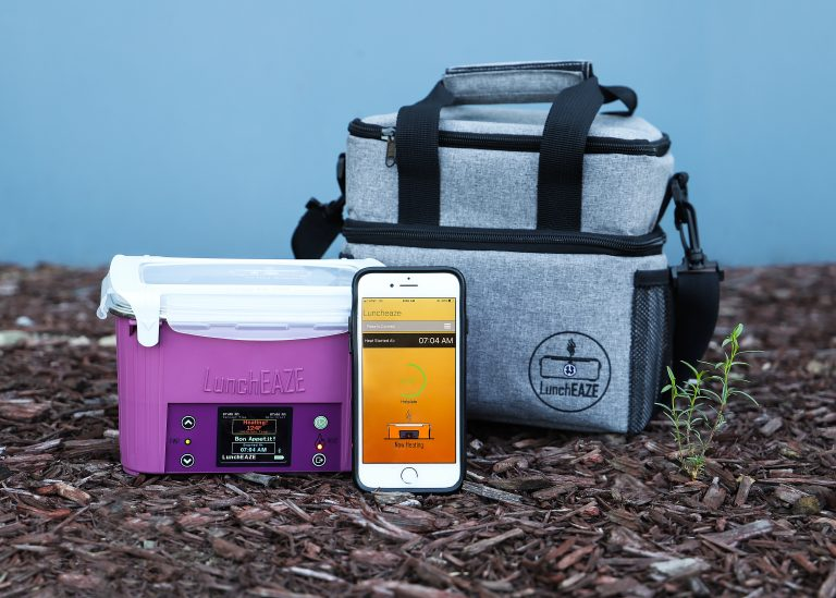 LunchEAZE heated lunch box and insulated lunch bag