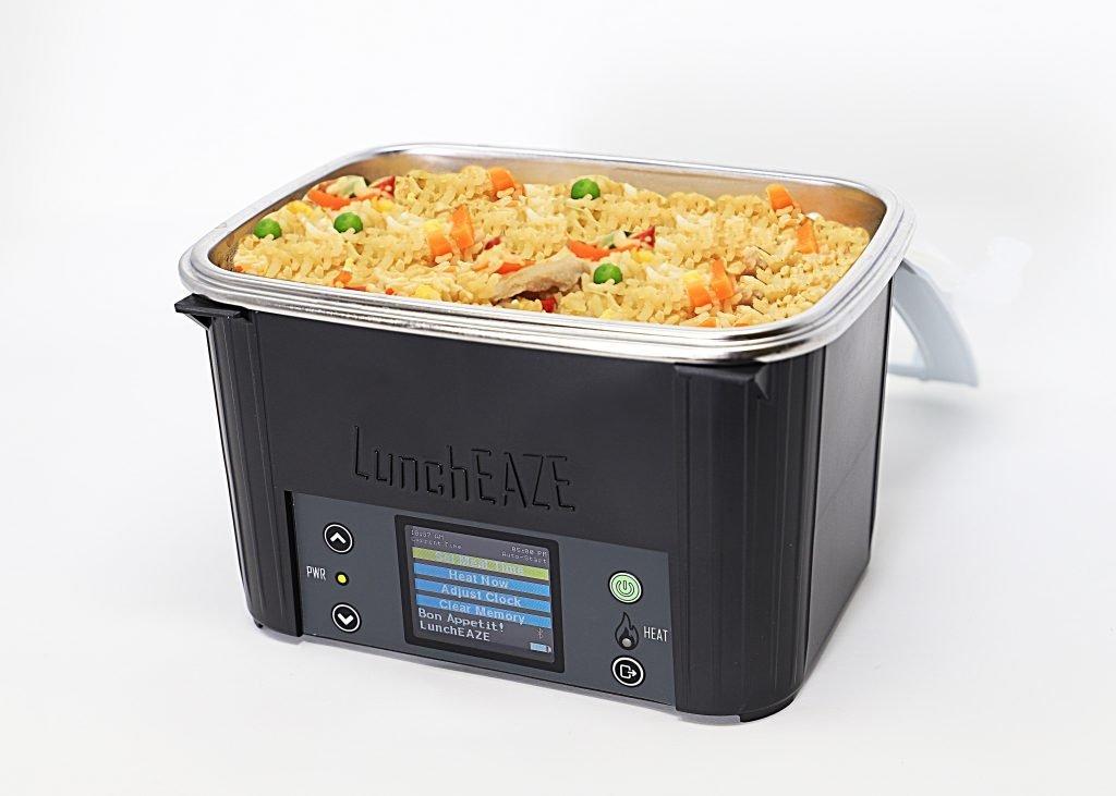 Black LunchEAZE lunch box