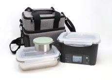 LunchEAZE everyday pack with lunchbox, meal containers, lunch bag