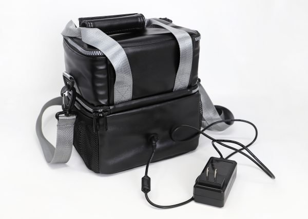 LunchEAZE black insulated lunch bag
