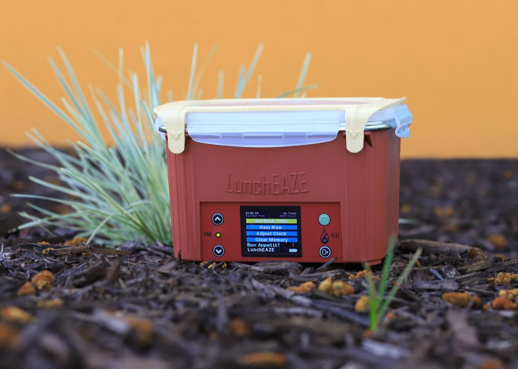 LunchEAZE high-tech heated lunchbox