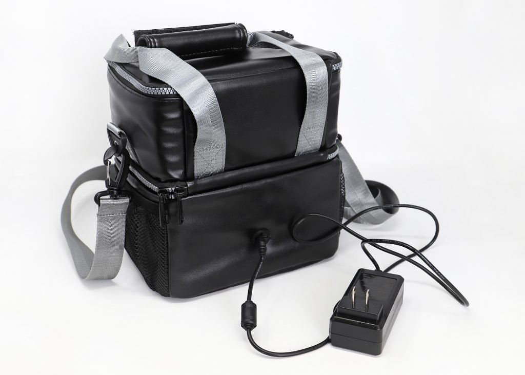 LunchEAZE black upgraded insulated lunch bag