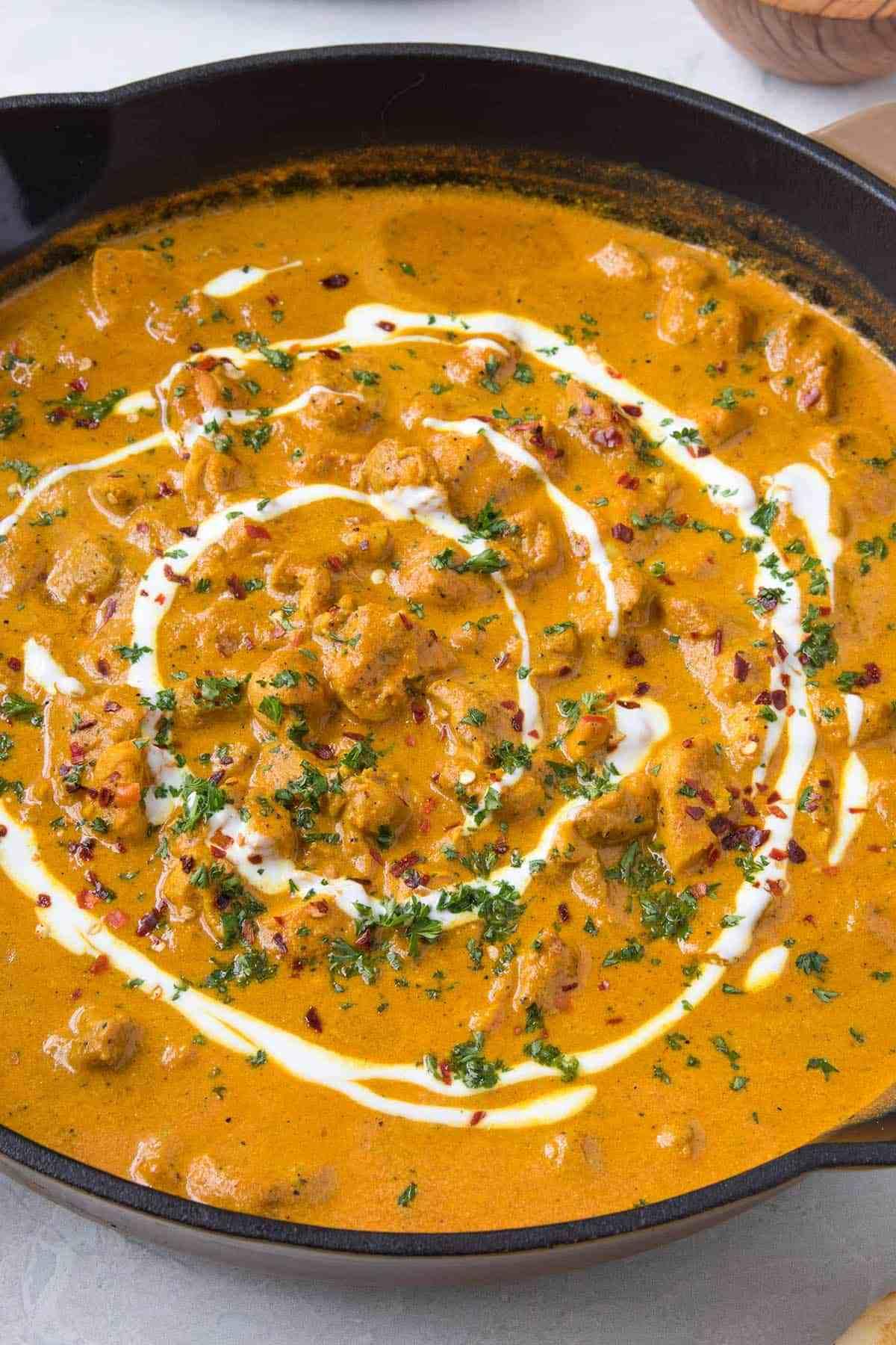 LunchEAZE butter chicken recipe
