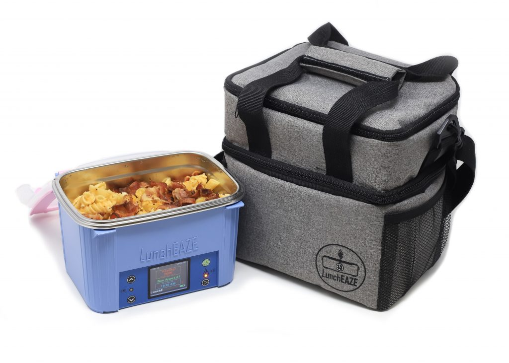 LunchEAZE heated lunch box and lunch bag