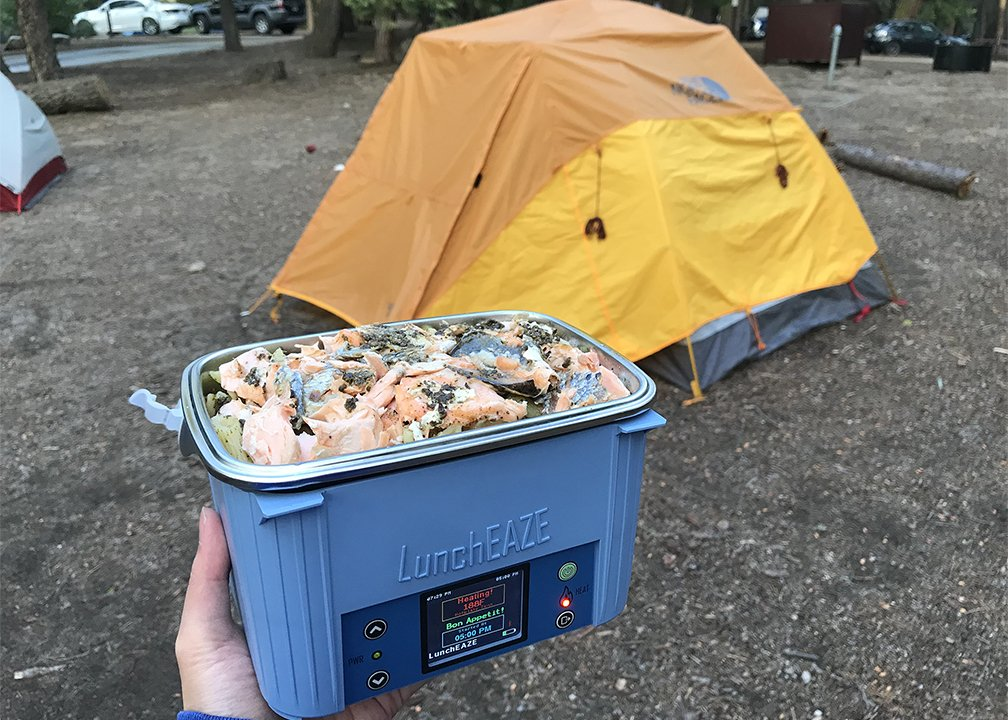 LunchEAZE camping