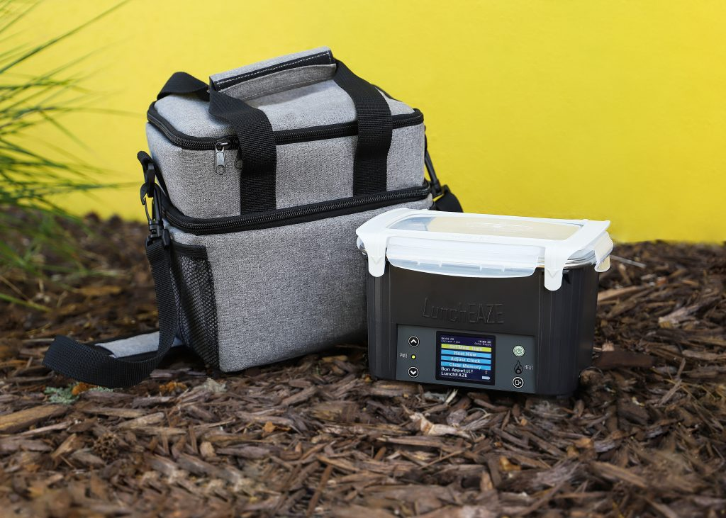 LunchEAZE cordless heated lunch box