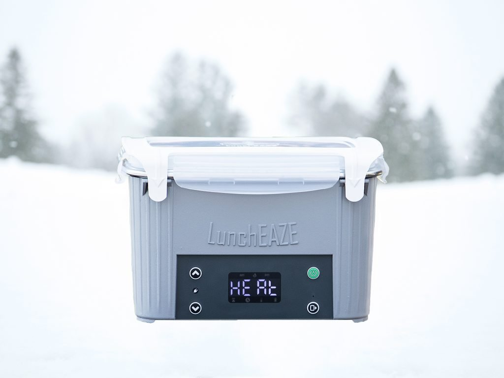 LunchEAZE heated electric lunch box