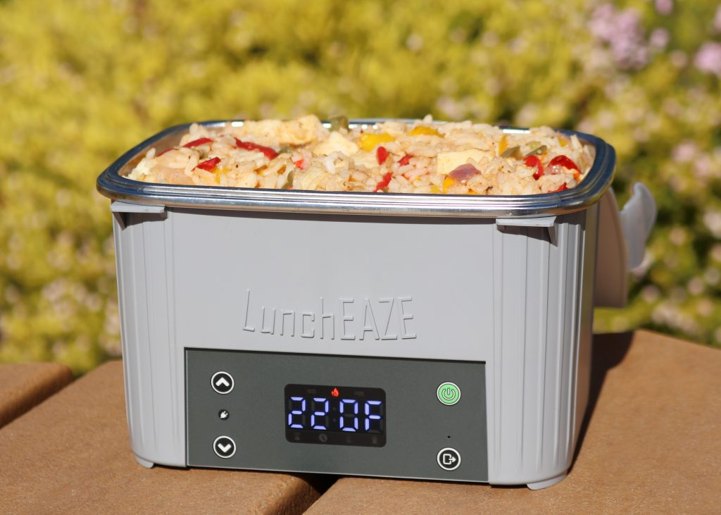 LunchEAZE Lite heated lunch box